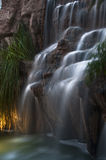Cachoeira longa da exposição Imagens de Stock