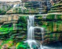 Cachoeira longa da exposição Imagem de Stock Royalty Free