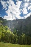 A cachoeira a mais alta do ` s de Alemanha em bonito berchtesgaden o país Fotografia de Stock Royalty Free