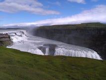 Cachoeira majestosa foto de stock