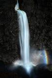 Cachoeira Manafossen (Noruega) Imagens de Stock Royalty Free