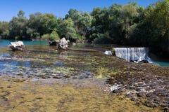 Cachoeira Manavgat em Turquia Fotografia de Stock Royalty Free