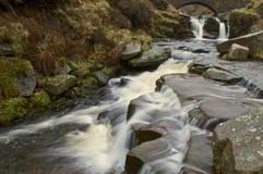 Cachoeira na cabeça de três condados fotos de stock royalty free