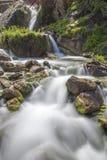 Cachoeira na caverna dos ventos imagens de stock