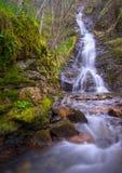 Cachoeira na escala de Courel Fotografia de Stock