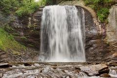 Cachoeira na floresta Imagens de Stock