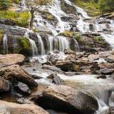 Cachoeira na floresta de Tailândia Imagens de Stock Royalty Free