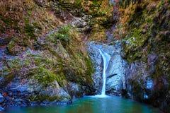 Cachoeira na garganta Foto de Stock
