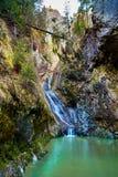 Cachoeira na garganta Imagem de Stock Royalty Free