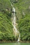 Cachoeira na garganta de Sumidero Fotografia de Stock