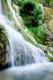 Cachoeira na mola Imagens de Stock Royalty Free