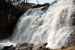 Cachoeira na mola Imagem de Stock Royalty Free
