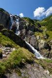 Cachoeira na montanha de Tatra Foto de Stock