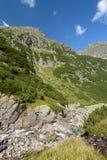 Cachoeira na montanha de Tatra Fotografia de Stock Royalty Free