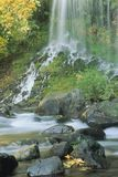 Cachoeira na natureza Fotografia de Stock Royalty Free