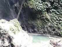 Cachoeira Nabire Papua Indonésia imagem de stock