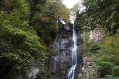 Cachoeira nas montanhas Foto de Stock Royalty Free