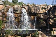 Cachoeira nas montanhas de Cederberg Foto de Stock
