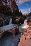 Cachoeira nas montanhas de Scotish Fotos de Stock