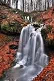 Cachoeira no Beskydy Imagem de Stock Royalty Free