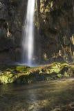 Cachoeira no campo fotografia de stock