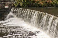 Cachoeira no desfiladeiro de Blackstone Foto de Stock Royalty Free