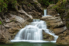 Cachoeira no desfiladeiro de Ostertal Fotografia de Stock