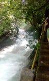 Cachoeira no Huasteca Potosina imagem de stock royalty free