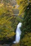 Cachoeira no outono Imagem de Stock Royalty Free