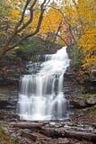 Cachoeira no outono Foto de Stock Royalty Free