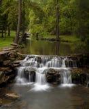 Cachoeira no Ozarks foto de stock