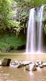 Cachoeira no paraíso fotos de stock