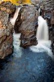 Cachoeira no parque 1 do caldeirão Imagem de Stock Royalty Free