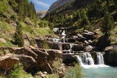 Cachoeira no parque nacional de fotografia de stock royalty free