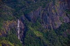 Cachoeira no pico de Adam - Sri Lanka Foto de Stock