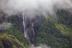 Cachoeira no pico de Adam - Sri Lanka Fotografia de Stock