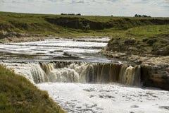 Cachoeira no rio Imagem de Stock Royalty Free