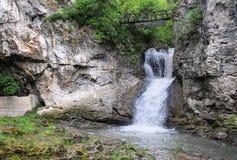 Cachoeira no rio de Andaka fotografia de stock royalty free