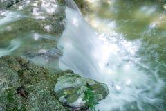 Cachoeira no rio Mebre 1 Imagens de Stock Royalty Free