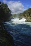 Cachoeira de Marimán Foto de Stock