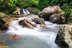 Cachoeira no sarika Fotografia de Stock