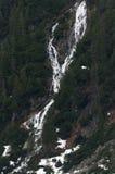 A cachoeira no Tatras alto, Zakopane pode dentro 2017, Polônia foto de stock