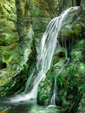 Cachoeira no vale da borboleta Fotos de Stock
