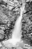 Cachoeira no vale de Nuria Foto de Stock
