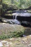 Cachoeira no verão Imagens de Stock Royalty Free