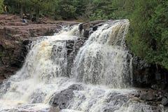 Cachoeira norte da costa Fotografia de Stock