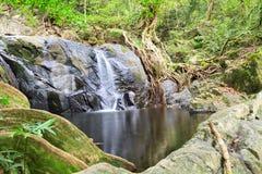 Cachoeira norte de Jedkod, Saraburi, Tailândia Fotos de Stock Royalty Free