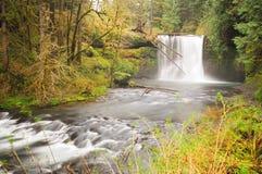 Cachoeira norte superior bonita Imagem de Stock Royalty Free