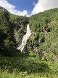 Cachoeira norueguesa imagens de stock