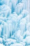 Cachoeira ou fonte congelada Imagem de Stock